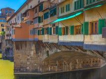Ponte Vecchio Στοκ Εικόνα