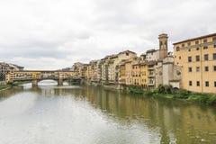 Ponte Vecchio Arkivbild