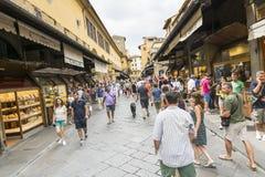 Ponte Vecchio Royaltyfria Foton