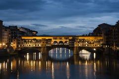 Ponte Vecchio Zdjęcie Royalty Free