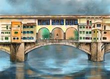 Ponte Vecchio 库存图片