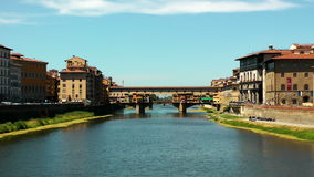 Ponte Vecchio stock videobeelden
