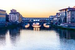 Ponte Vecchio Royalty-vrije Stock Afbeeldingen