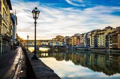 Ponte Vecchio Stock Foto's