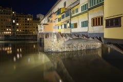 Ponte Vecchio Royalty-vrije Stock Fotografie
