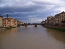 Ponte Vecchio Royaltyfria Bilder