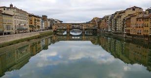 Ponte Vecchio Fotografering för Bildbyråer