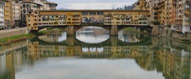 Ponte Vecchio Arkivbilder