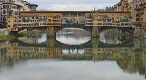 Ponte Vecchio Royaltyfri Bild