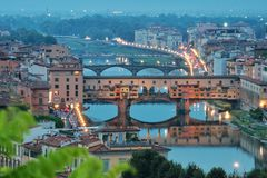 Ponte Vecchio Photographie stock libre de droits