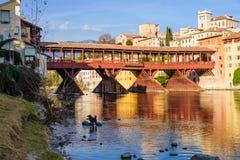 Ponte Vecchio, Bassano del Grappa Royalty Free Stock Images
