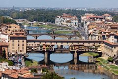 Ponte Vecchio bridge Royalty Free Stock Photos