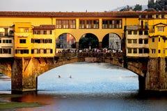 Ponte Vecchio Bridge Royalty Free Stock Photo
