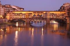 Ponte Vecchio bridge Stock Photography