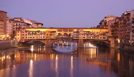 Ponte Vecchio bridge Royalty Free Stock Photography