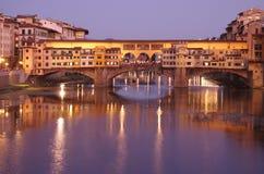 Ponte Vecchio bridge Stock Photo