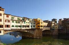 Ponte Vecchio bridge Stock Image