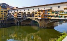 Ponte Vecchio Bridge Florence Stock Image