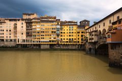Ponte Vecchio Bridge in Florence Royalty Free Stock Images