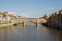 Ponte Vecchio Bridge Florence. Detail of  the Ponte Vecchio Bridge over the Arno River,Florence , Italy Royalty Free Stock Image