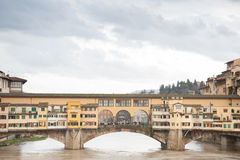 Ponte Vecchio Bridge Stock Images