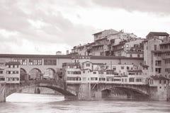 Ponte Vecchio Bridge; Florence, Italy Royalty Free Stock Image