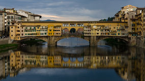 Ponte Vecchio bridge - Florence (Italy) Royalty Free Stock Photos