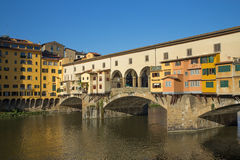 Ponte Vecchio Bridge ( Florence, Italy) Stock Photography