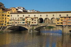 Ponte Vecchio Bridge ( Florence, Italy) Royalty Free Stock Photography