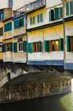 The Ponte Vecchio bridge in Florence, Italy Stock Images