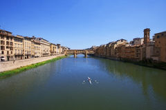 Ponte Vecchio Bridge Florence Royalty Free Stock Photo