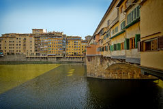 Ponte Vecchio Bridge, Florence Italy Stock Photos