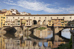 Ponte Vecchio bridge in Florence, Italy Stock Photo