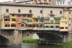 Ponte Vecchio Bridge Florence Stock Images