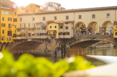 Ponte Vecchio bridge, Florence, Tuscany, Italy Royalty Free Stock Photos
