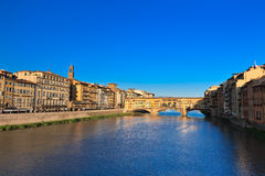 Ponte Vecchio Bridge, Italy Stock Photo