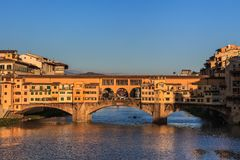 Ponte Vecchio Bridge, Italy Royalty Free Stock Photography