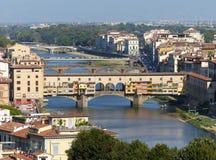 The Ponte Vecchio bridge Royalty Free Stock Photos