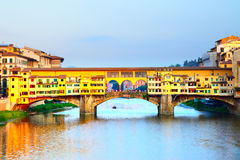 Ponte Vecchio bridge Royalty Free Stock Image