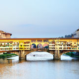 Ponte Vecchio bridge Royalty Free Stock Photo