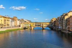 Ponte Vecchio bridge Stock Images