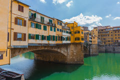Ponte vecchio close Royalty Free Stock Photo