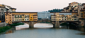 Ponte Vecchio by day. Royalty Free Stock Photo