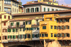 Ponte Vecchio detail Royalty Free Stock Images