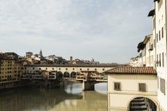 Ponte Vecchio di Firenze Fotografia Stock Libera da Diritti