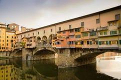 Ponte Vecchio em Florença Foto de Stock Royalty Free