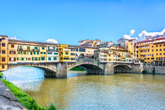 Ponte Vecchio em Itália Imagens de Stock Royalty Free