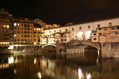 Ponte Vecchio en Florencia Fotografía de archivo libre de regalías