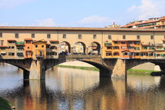 Ponte Vecchio en Florencia Imagen de archivo