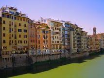 Ponte Vecchio en Florencia Fotos de archivo libres de regalías